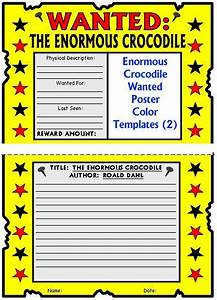 enormous crocodile lesson plans author roald dahl With roald dahl book review template