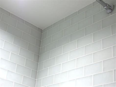 white glass tiles white glass tile with gray grout global business forum iitbaa