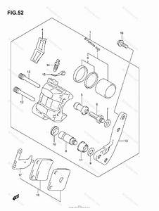 Suzuki Atv 2007 Oem Parts Diagram For Front Caliper
