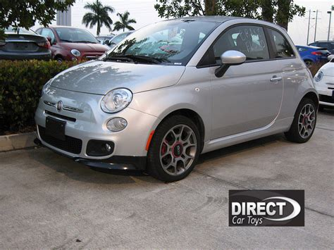 Weight Of Fiat 500 by 2007 2016 Fiat 500 Sport Style 2pc Front Bumper Lip