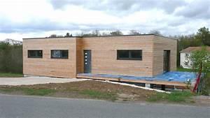 Maison écologique En Kit : maison bois bretagne ri66 jornalagora ~ Dode.kayakingforconservation.com Idées de Décoration