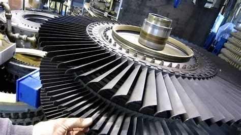 Jet Engine Turbine Blade Noise