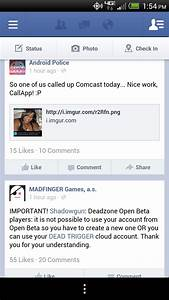 Facebook For Android App Updated With Sharing, Improved ...