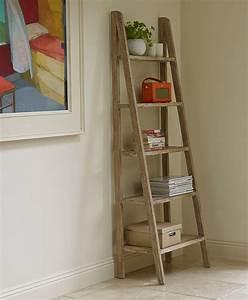 ingenious ladder shelf ideas home accessories segomego With idee deco echelle bois