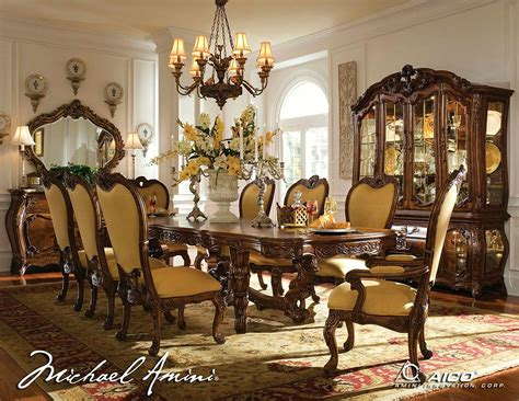 Palais Royale Aico Dining Set  Aico Dining Room Furniture