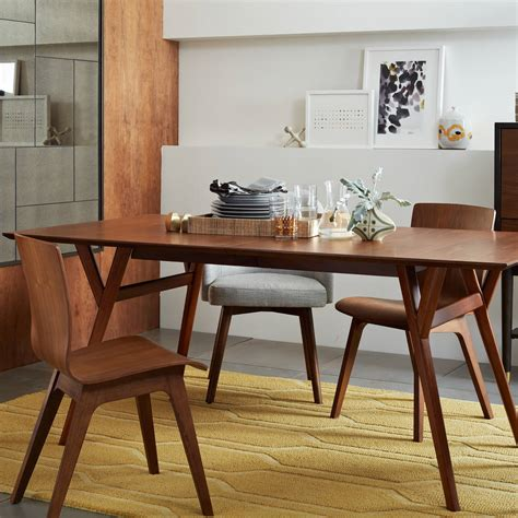 west elm mid century desk review dining room is back in vogue las vegas review journal