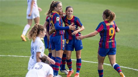 Real Madrid Femenino 0-4 FC Barcelona Femenino: El Barça ...