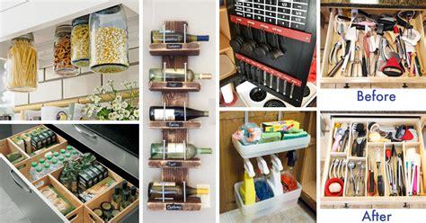 small kitchen organizing ideas 45 small kitchen organization and diy storage ideas diy projects