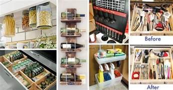 new kitchen ideas 45 small kitchen organization and diy storage ideas