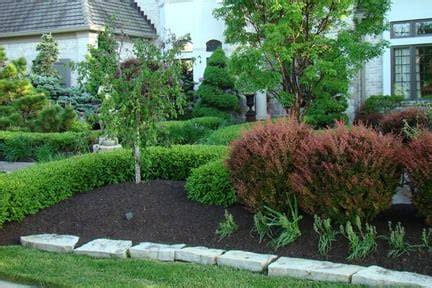 types  landscaping mulch  design styles angies list
