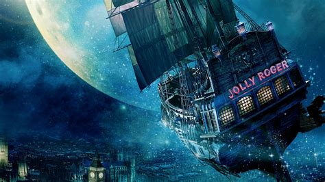 jolly roger ship peter pan wallpapers hd wallpapers id