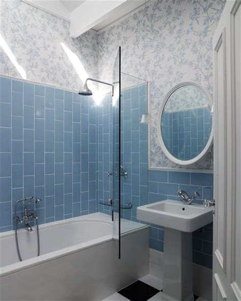 glass subway tile bathroom ideas going vertical with subway tile