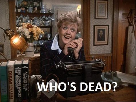 Murder She Wrote Meme - nbc new murder she wrote m k serial bloggers
