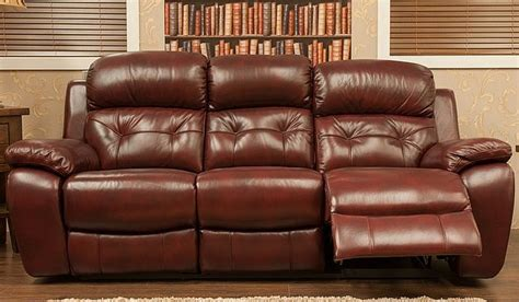 reclining settees bentley reclining 3 seater leather sofa settee available