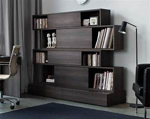 Bibliothèque Design Bois : 16 best images about idees bibliotheque salon on pinterest shelves tvs and corner shelves ~ Melissatoandfro.com Idées de Décoration
