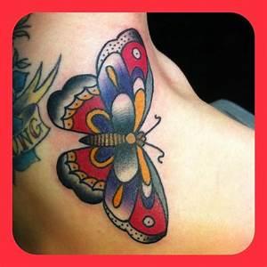 Old School butterfly | tattoo envy. | Pinterest | Tattoo ...