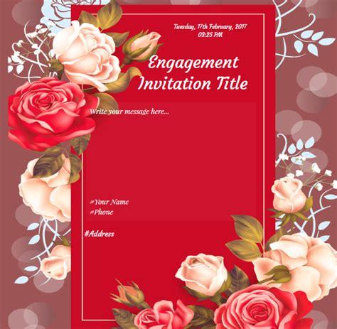 Engagement Invitation Cards Designs PaperInvite