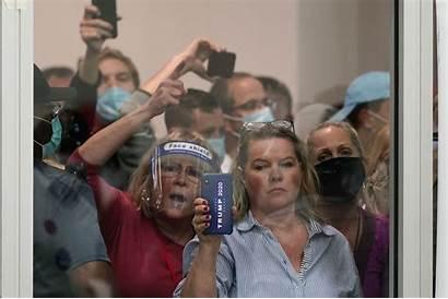 Trump Count Vote Michigan Stop Demand Gather