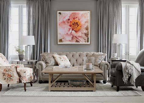 pretty living room ethan allen