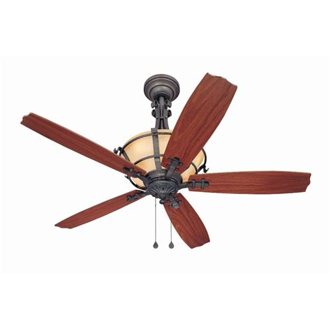 Harbor Avian Ceiling Fan Troubleshooting by Shop Harbor Lynnhaven 54 In Vintage Iron Downrod