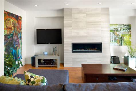 asymmetrical room asymmetrical overhaul modern living room vancouver by klondike contracting