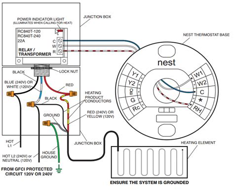 Wiring Low Voltage Thermostat Profusion Electric Heater