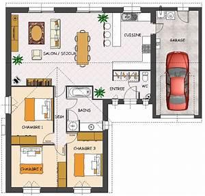 Idée Construction Maison : construction maison neuve charme lamotte maisons ~ Premium-room.com Idées de Décoration