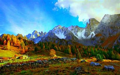 Mountain Mountains Wallpapers Amazing Desktop Perspective Views