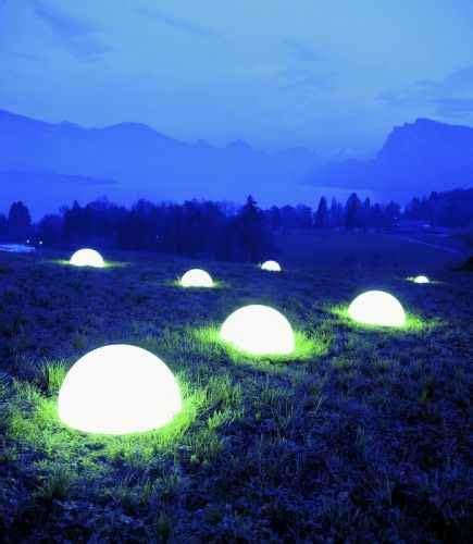 Kugel Beleuchtung Für Aussen by Garten Halbkugeln Als Beleuchtung F 252 R Au 223 En