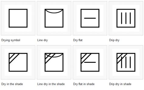 Dodge Packaging » Laundry Symbols
