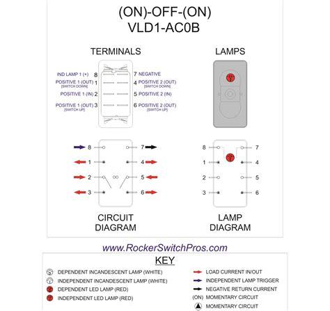 8 Terminal Rocker Switch Wiring Diagram by On On Switch Led Rocker Switch Pros