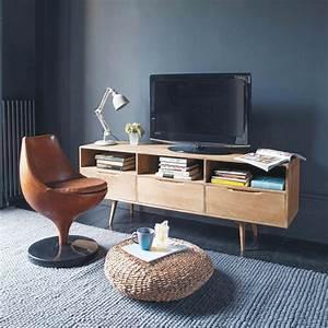 Meuble Chaussure Maison Du Monde : meuble tv vintage maisons du monde ~ Teatrodelosmanantiales.com Idées de Décoration