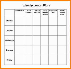 5 editable weekly lesson plan template mail clerked With free editable weekly lesson plan template