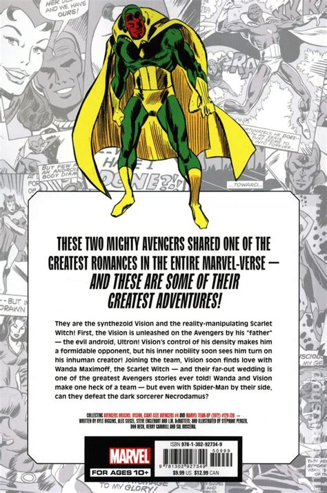 Marvel-Verse Wanda and Vision TPB (2020 Marvel) comic books
