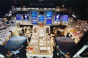 Inside Space Shuttle Cockpit - Pics about space