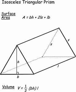 Surface Area and Volume Formulas for Geometric Shapes ...