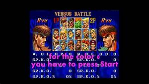 Snes Super Street Fighter 2 Cheat Other Colors For Fighter