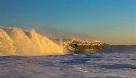 montauk ny land cold perfect barrels inertia