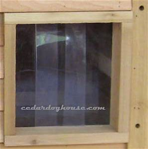 Extra large cedar dog house for Dog door flap material