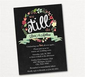 wedding vow renewal 12 step how to guide renewal With take 2 wedding invitations