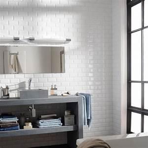 Faience Metro Blanc : r nover sa salle de bain ~ Farleysfitness.com Idées de Décoration