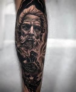 Ancient Scroll Designs Zeus Tattoos Designs Ideas And Meaning Tattoos For You