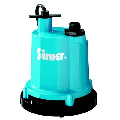 simer  hp cast aluminum submersible utility pump lowe