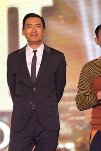 Chow Yun-Fat and Andy Lau promote The Man From Macau III ...