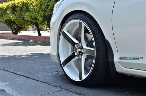 2014 honda accord sedan on 20 quot str 607 white windows