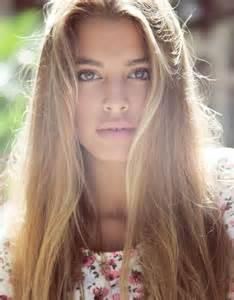 Models with Blonde Hair Brown Eyes