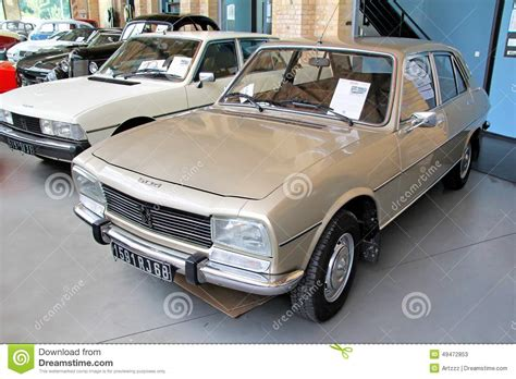 Peugeot 504 Editorial Stock Photo