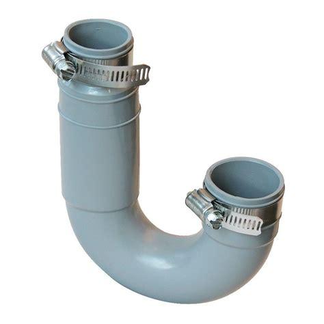 pvc sink trap 1 1 2 in x 1 1 4 in pvc drain trap pft 150 the home depot