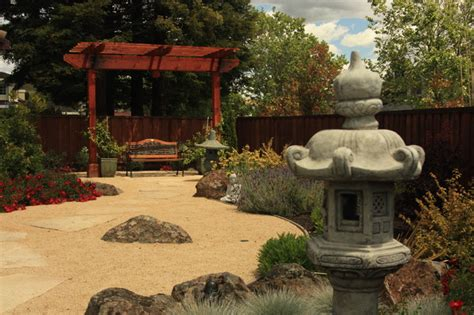 zen garden asian landscape san francisco by susan