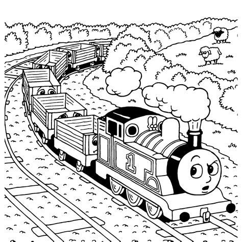 De Trein Kleurplaat by Leuk Voor Trekt De Wagons